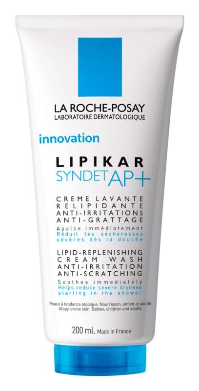 La Roche-Posay Lipikar Syndet AP+ gel-crème nettoyant anti-irritations et anti-grattage