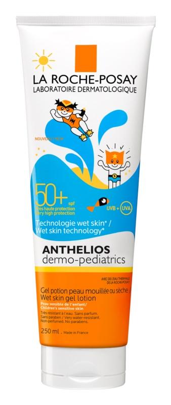 La Roche-Posay Anthelios Dermo-Pediatrics loção gel protetora para a pele dos bebés SPF 50+
