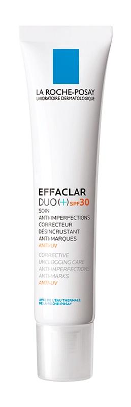 La Roche-Posay Effaclar DUO (+) korekčná obnovujúca starostlivosť proti nedokonalostiam pleti a stopám po akné SPF 30