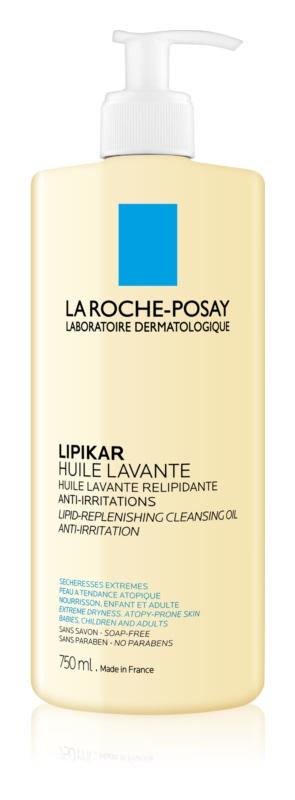 La Roche-Posay Lipikar Huile Lipid-Replenishing Cleansing Oil Anti-Irritation