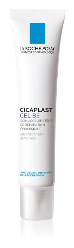 La Roche-Posay Cicaplast Gel B5 Repair Gel to Accelerate Renewal of Irritated and Cracked Skin