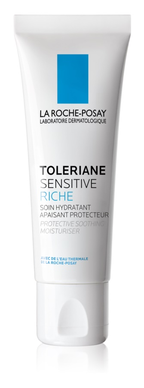La Roche-Posay Toleriane Sensitive Rich prebiotický hydratační krém pro zmírnění citlivosti pleti