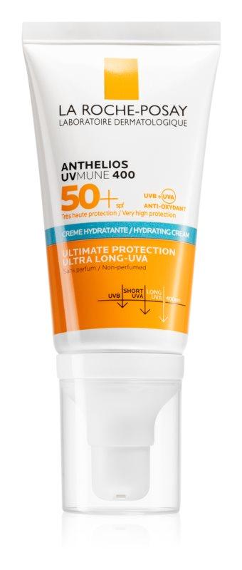 La Roche-Posay Anthelios Ultra védő arckrém érzékeny és intoleráns bőrre SPF 50+