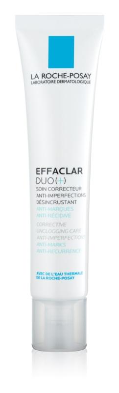 La Roche-Posay Effaclar DUO (+) korekcijska obnavljajuća antirecidivna njega protiv nesavršenosti lica i akni