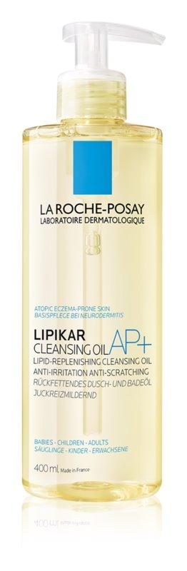 La Roche-Posay Lipikar Huile AP+ zvláčňujúci relipidačný umývací olej proti podráždeniu