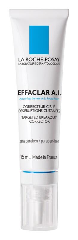 La Roche-Posay Effaclar A.I. cuidado corretivo profundo para pele problemática, acne