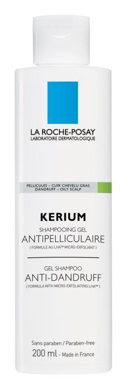 La Roche-Posay Kerium champô contra caspa oleosa