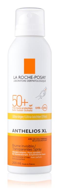 La Roche-Posay Anthelios XL transparentny ochronny spray SPF 50+