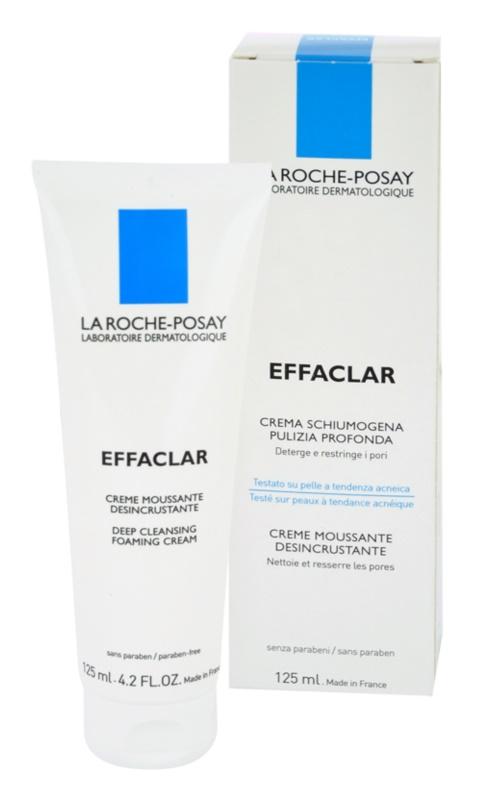 La Roche-Posay Effaclar Cleansing Foaming Cream For Problematic Skin, Acne