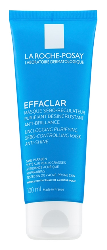 La Roche-Posay Effaclar čistiaca maska pre redukciu kožného mazu a minimalizáciu pórov