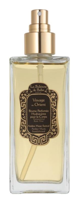 La Sultane de Saba Ambre, Musc, Santal Body Spray unisex 200 ml