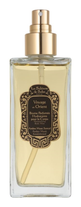 La Sultane de Saba Ambre, Musc, Santal spray do ciała unisex 200 ml