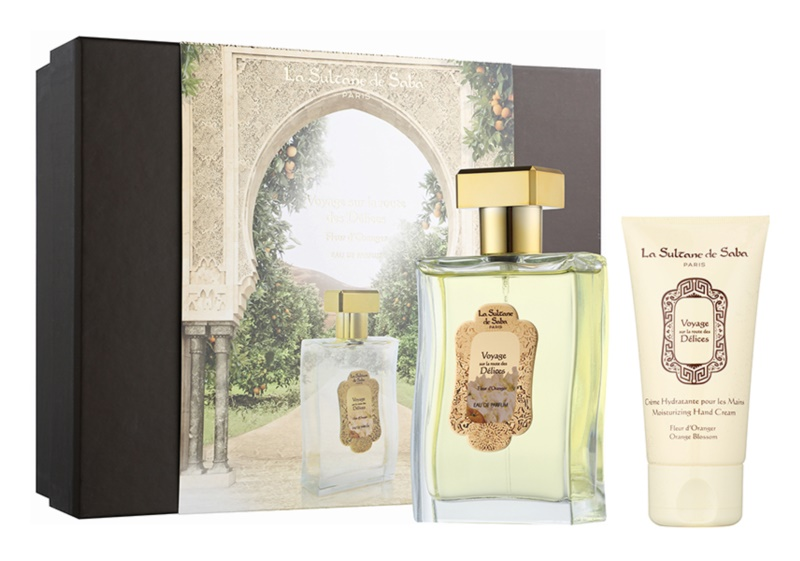 La Sultane de Saba Fleur d'Oranger ajándékszett I.