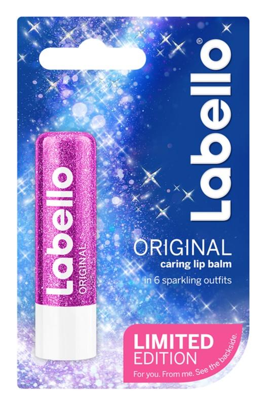 Labello Original Sparkle balzam za ustnice limitirana edicija