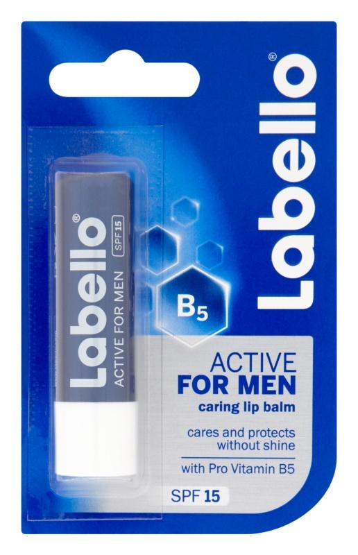 Labello Active Care balsamo labbra per uomo SPF 15
