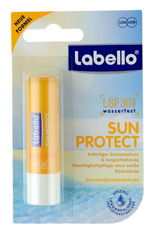 Labello Sun Protect baume à lèvres SPF30