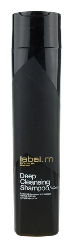 label.m Cleanse das Reinigungsshampoo für empfindliche Kopfhaut