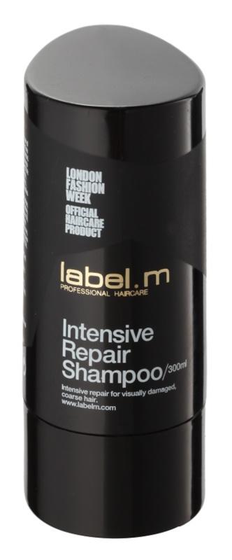 label.m Cleanse megújító sampon a károsult hajra