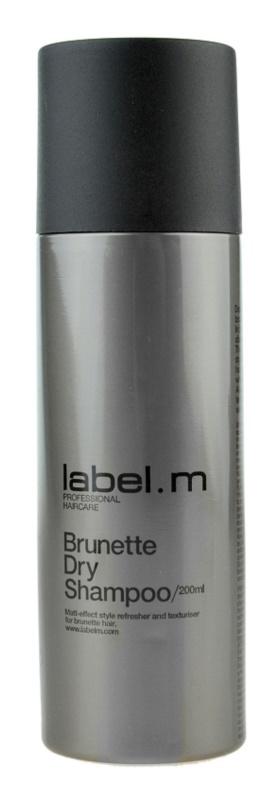 label.m Cleanse sampon uscat pentru nuante de par castaniu
