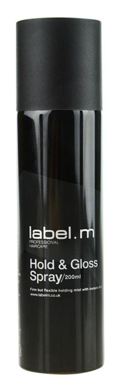 label.m Complete lak na vlasy pre spevnenie a lesk