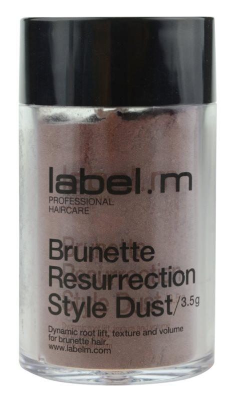 label.m Complete polvos capilares para los tonos marrones del cabello