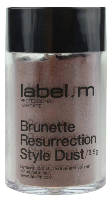 label.m Complete vlasový pudr pro hnědé odstíny vlasů