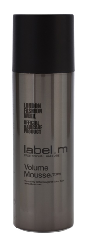 label.m Create mousse fixante pour cheveux fins