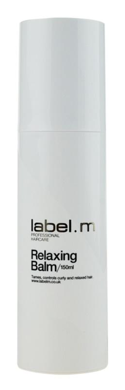 label.m Create balzám pro nepoddajné a krepatějící se vlasy