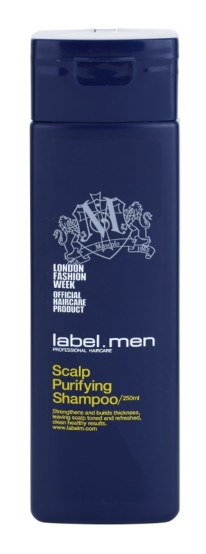 label.m Men čistilni šampon za lase in lasišče