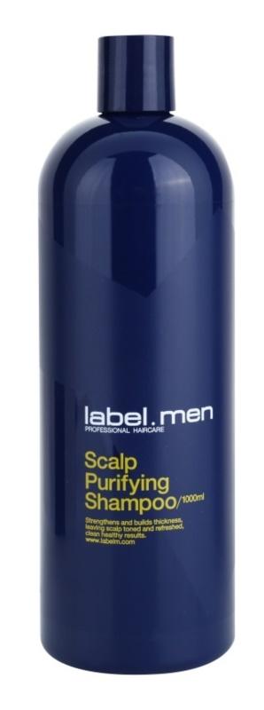 label.m Men champô de limpeza para o cabelo e couro cabeludo