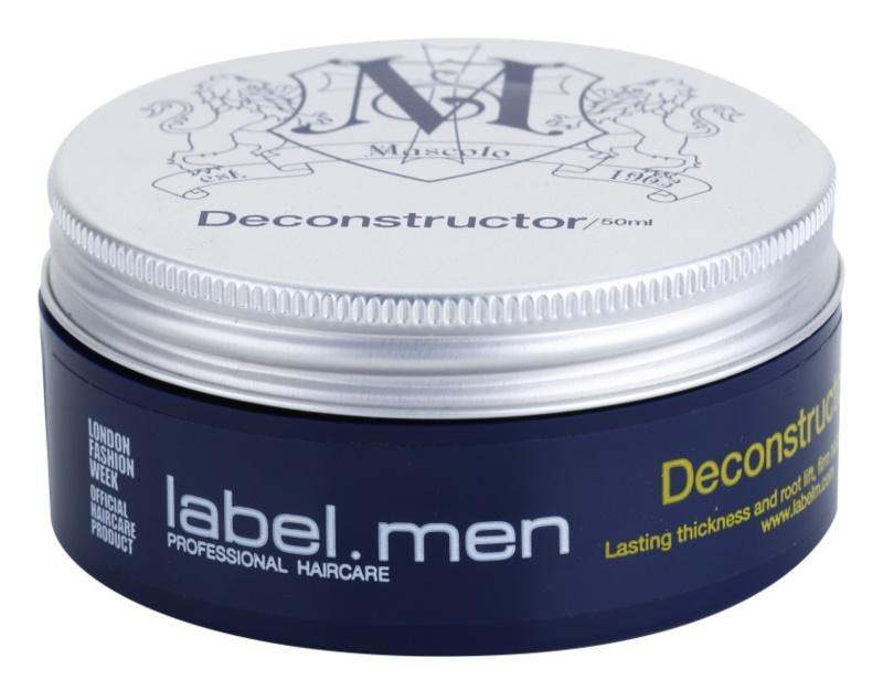 label.m Men pasta moldeadora para cabello