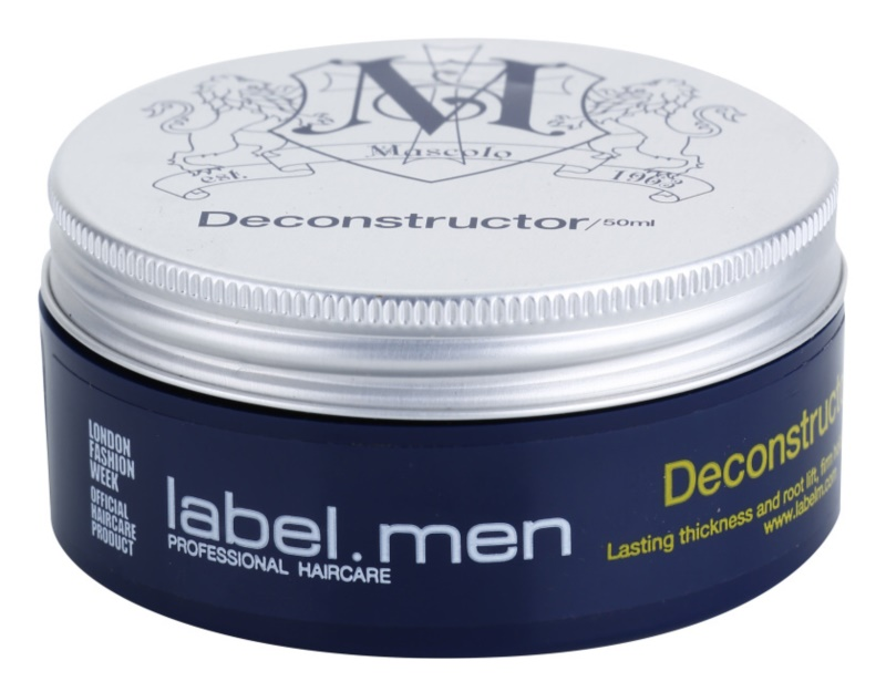 label.m Men моделираща паста  За коса