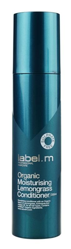 label.m Organic vyživujúci kondicionér pre suché vlasy