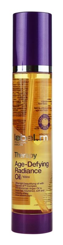 label.m Therapy  Age-Defying arganový olej pre lesk