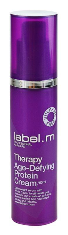 label.m Therapy  Age-Defying öblítés nélküli krémes ápolás hajra