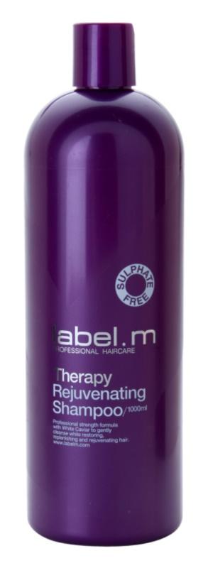 label.m Therapy  Rejuvenating fiatalító sampon kaviárral