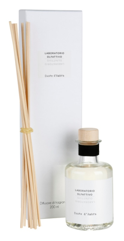 Laboratorio Olfattivo Cuore d'Ambra dyfuzor zapachowy z napełnieniem 200 ml