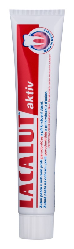 Lacalut Aktiv dentifricio contro la paradontite