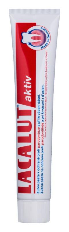 Lacalut Aktiv Tandpasta  tegen Pariodontitis