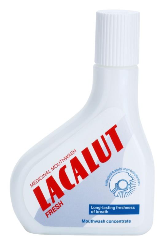 Lacalut Fresh bain de bouche concentré pour une haleine fraîche