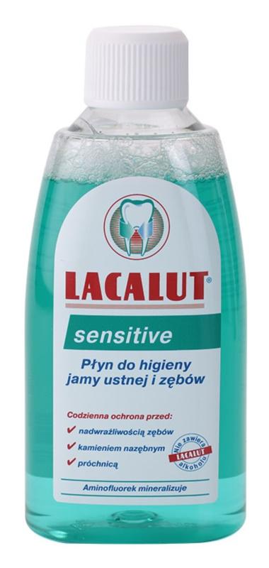 Lacalut Sensitive Mundwasser für empfindliche Zähne