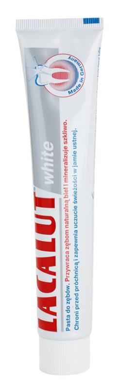 Lacalut White οδοντόκρεμα  με λευκαντική δράση