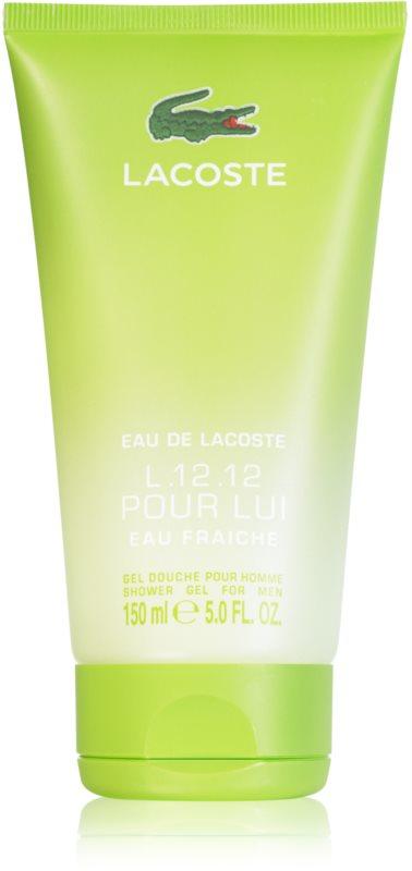 Lacoste Eau de Lacoste L.12.12 Eau Fraiche sprchový gél pre ženy 150 ml