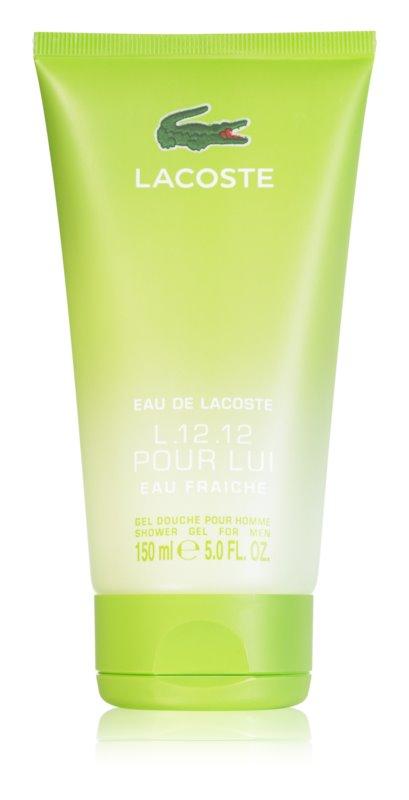 Lacoste Eau de Lacoste L.12.12 Eau Fraiche tusfürdő férfiaknak 150 ml