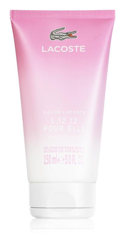 Lacoste Eau de Lacoste L.12.12 Pour Elle Eau Fraiche sprchový gel pro ženy 150 ml