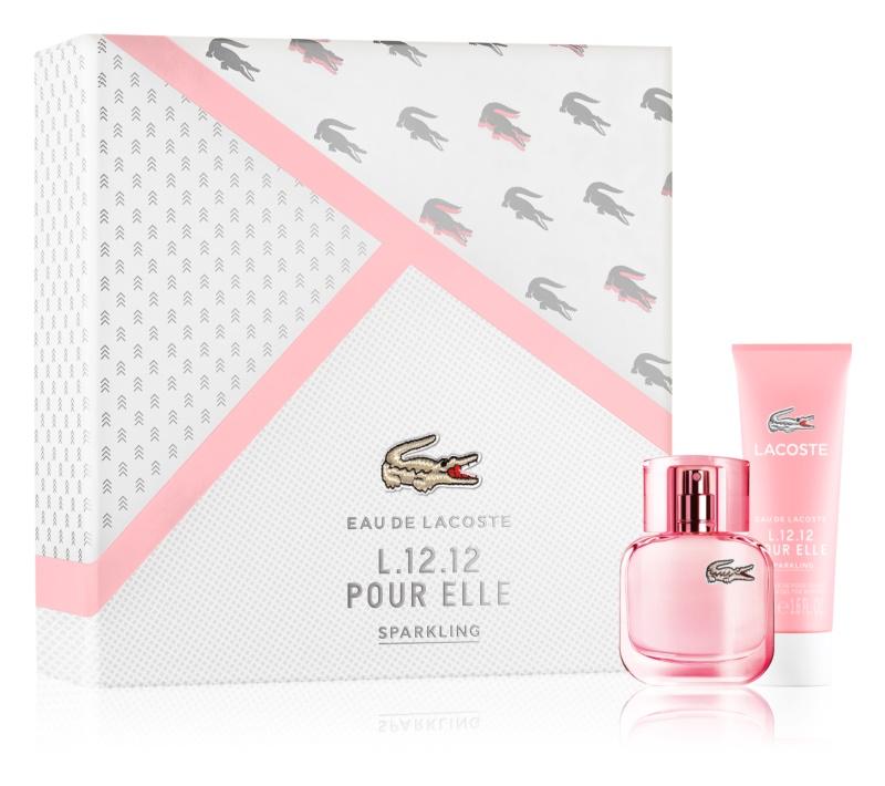 Lacoste Eau de Lacoste L.12.12 Pour Elle Sparkling darčeková sada III.