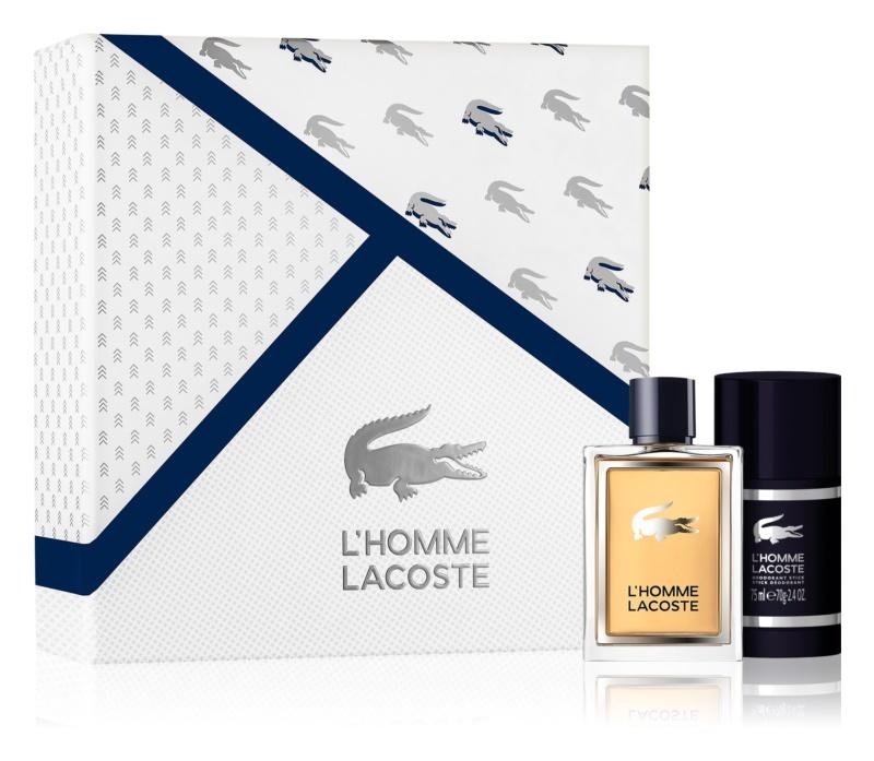 Lacoste L'Homme Lacoste darčeková sada III.