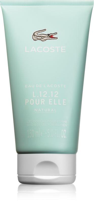 Lacoste Eau de Lacoste L.12.12 Pour Elle Natural Shower Gel for Women 150 ml