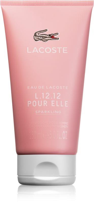 Lacoste Eau de L.12.12 Pour Elle Sparkling gel douche pour femme 150 ml
