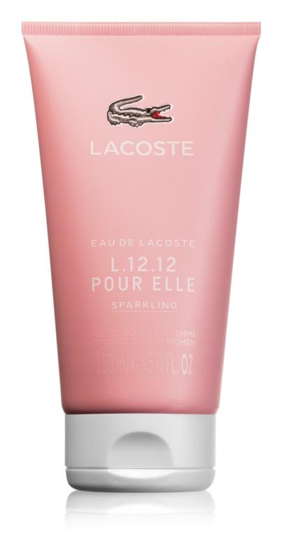 Lacoste Eau de Lacoste L.12.12 Pour Elle Sparkling sprchový gel pro ženy 150 ml